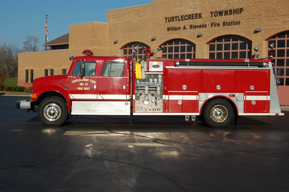 Engine 32-2: 1992 International Engine