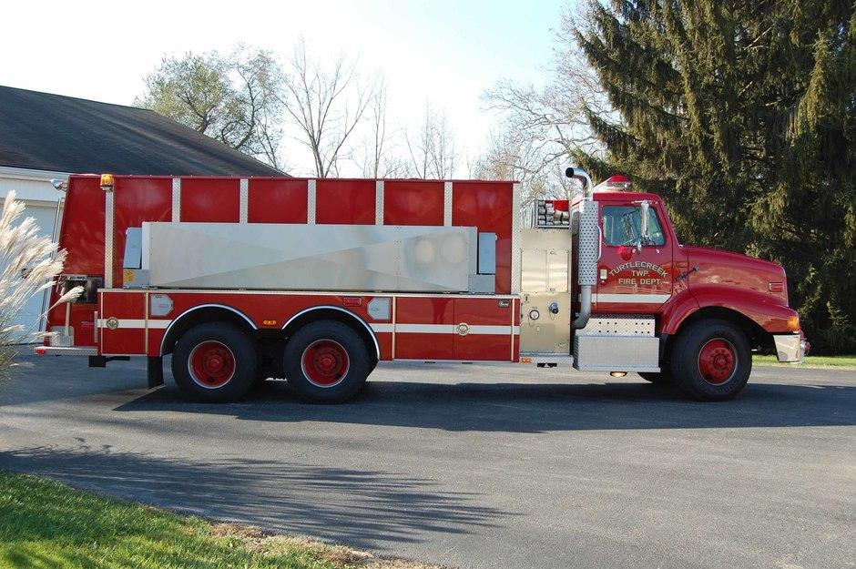 Tanker 31-2: 1998 International Tanker built by 4 Guys Fire Equipment