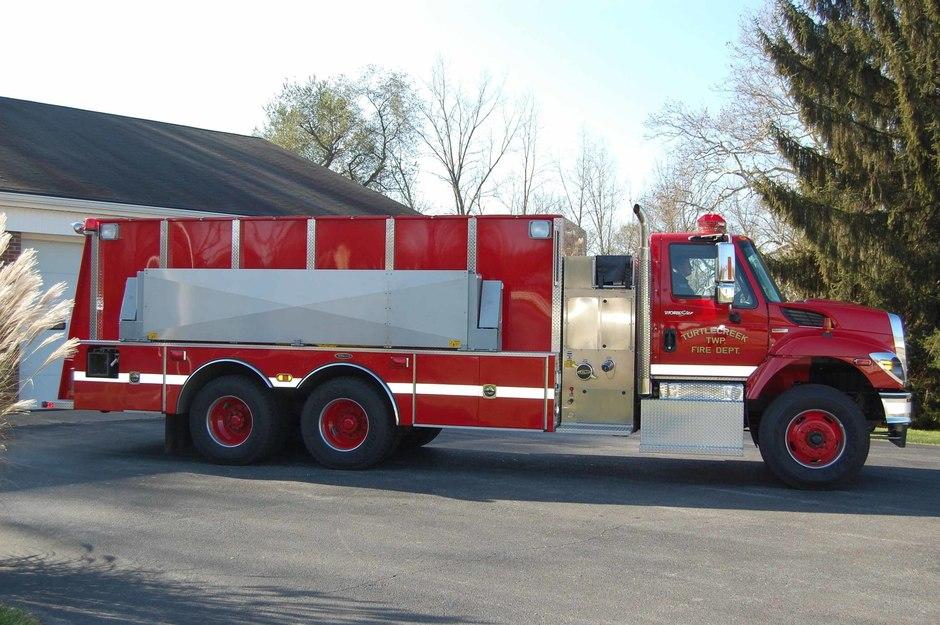 Tanker 31: 2009 International Tanker built by 4 Guys Fire Equipment