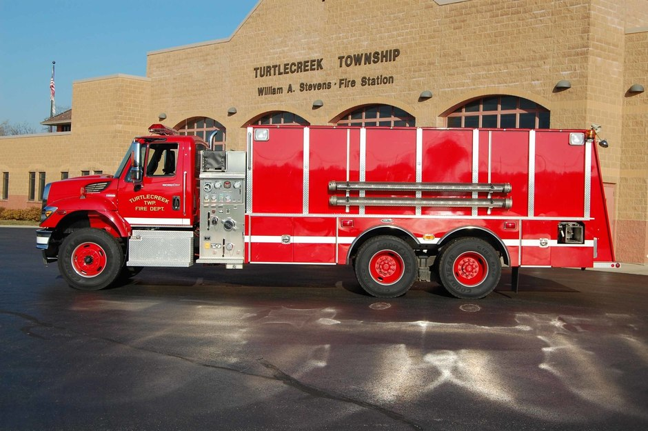 Tanker 32: 2009 International Tanker built by 4 Guys Fire Equipment